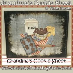 Grandmas Cookie Sheet Download - Vicki Saum