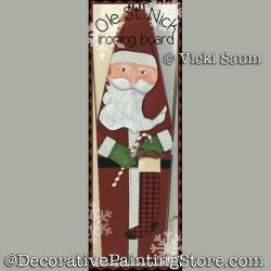 Ole St Nick Ironing Board Download - Vicki Saum