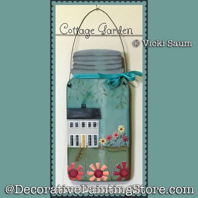 Cottage Garden DOWNLOAD - Vicki Saum