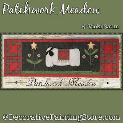 Patchwork Meadow DOWNLOAD - Vicki Saum