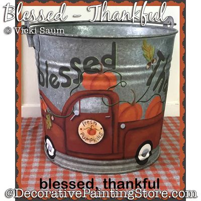 Blessed Thankful (Red Pickup Truck) DOWNLOAD - Vicki Saum