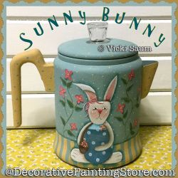Sunny Bunny Painting Pattern PDF DOWNLOAD - Vicki Saum