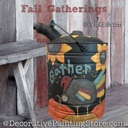 Fall Gatherings Painting Pattern PDF DOWNLOAD - Vicki Saum