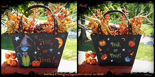 Trick or Treat! Pattern - Sharon Bond - PDF DOWNLOAD