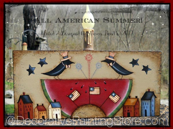 All American Summer Pattern by Sharon Bond - PDF DOWNLOAD