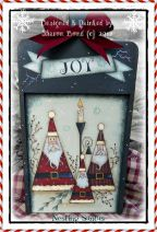 Nesting Santas Pattern - Sharon Bond - PDF DOWNLOAD
