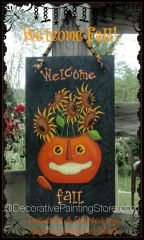Welcome Fall ePattern by Sharon Bond - PDF DOWNLOAD