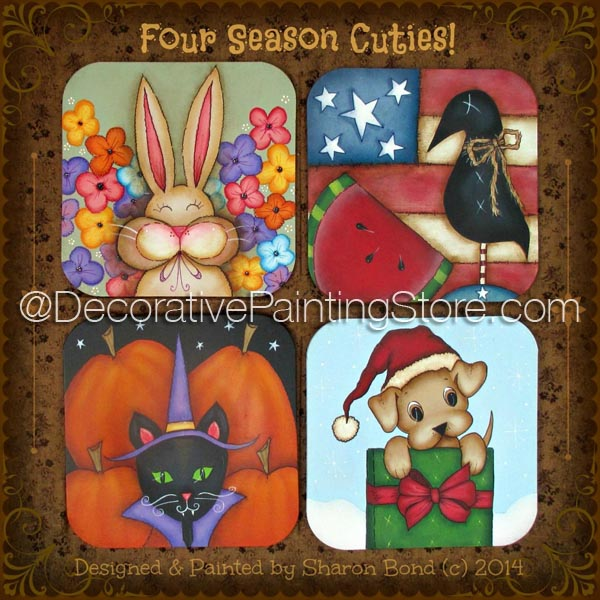 Four Season Cuties ePattern by Sharon Bond - PDF DOWNLOAD