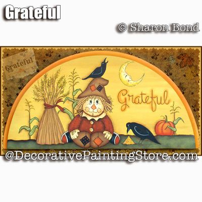 Grateful ePattern - Sharon Bond - PDF DOWNLOAD