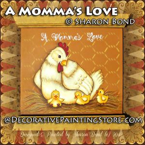 A Mommas Love ePattern by Sharon Bond - PDF DOWNLOAD