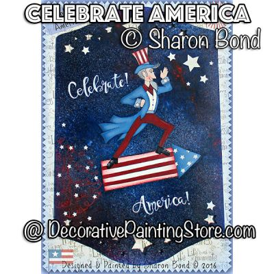 Celebrate America ePattern by Sharon Bond - PDF DOWNLOAD