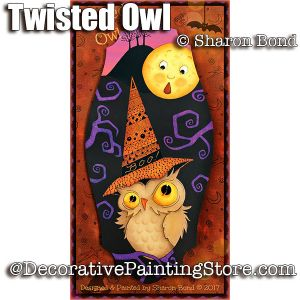 Twisted Owl ePattern - Sharon Bond - PDF DOWNLOAD