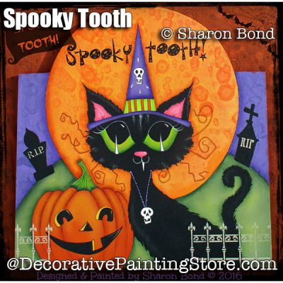 Spooky Tooth ePattern - Sharon Bond - PDF DOWNLOAD