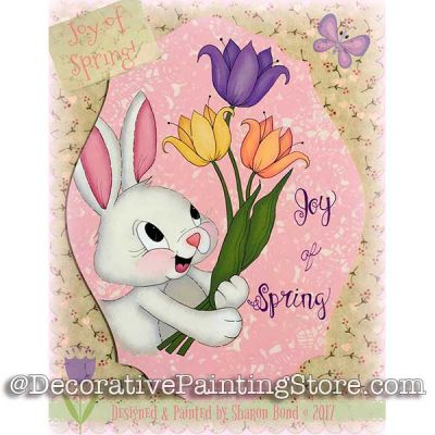 Joy of Spring ePattern - Sharon Bond - PDF DOWNLOAD