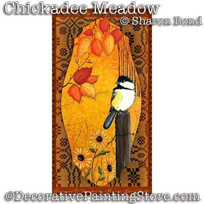 Chickadee Meadow ePattern - Sharon Bond - PDF DOWNLOAD