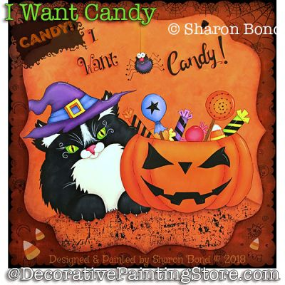 I Want Candy ePattern - Sharon Bond - PDF DOWNLOAD