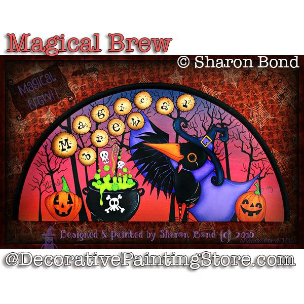 Magical Brew ePattern - Sharon Bond - PDF DOWNLOAD