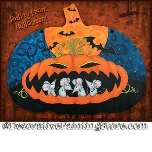Hiding from Halloweenl ePattern - Sharon Bond - PDF DOWNLOAD