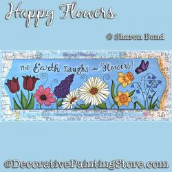 Happy Flowers DOWNLOAD  - Sharon Bond