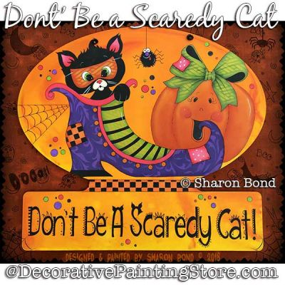 Dont Be a Scaredy Cat DOWNLOAD  - Sharon Bond