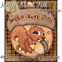 Nutty About Fall DOWNLOAD  - Sharon Bond