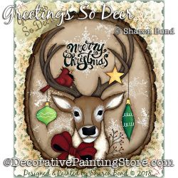 Greetings So Deer DOWNLOAD  - Sharon Bond