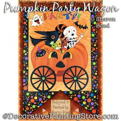 Pumpkin Party Wagon DOWNLOAD  - Sharon Bond