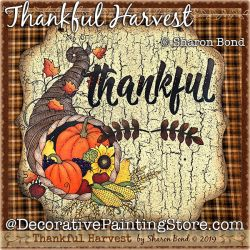 Thankful Harvest DOWNLOAD  - Sharon Bond