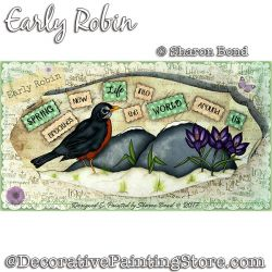 Early Robin DOWNLOAD  - Sharon Bond