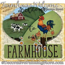 Farmhouse Welcome DOWNLOAD  - Sharon Bond