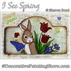 I See Spring DOWNLOAD  - Sharon Bond