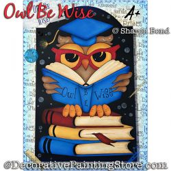Owl Be Wise DOWNLOAD  - Sharon Bond