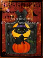 Midnight Kitty ePattern by Sharon Bond - PDF DOWNLOAD
