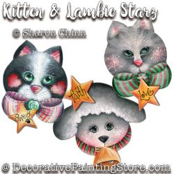 Kitten and Lambie Starz Ornaments DOWNLOAD