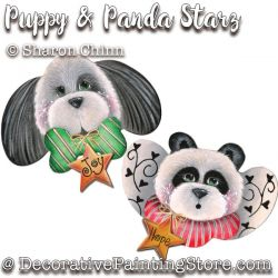 Puppy and Panda Starz Ornaments DOWNLOAD
