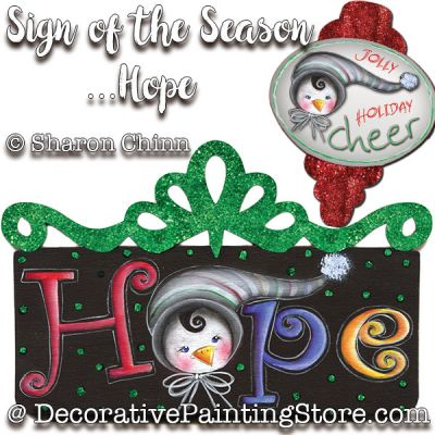 Sign of the Seasons-Hope Ornaments DOWNLOAD