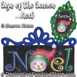 Sign of the Seasons-Noel Ornaments DOWNLOAD