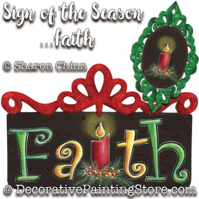 Sign of the Seasons-Faith Ornaments DOWNLOAD