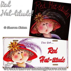 Red Hat-titude ePattern by Sharon Chinn - PDF DOWNLOAD
