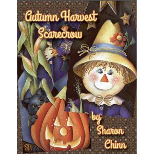 Autumn Harvest Scarecrow Ironing Board BY MAIL - Sharon Chinn