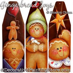 Gingerbread Joys Download Painting Pattern - Sharon Chinn