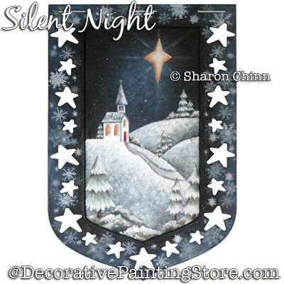 Silent Night Banner DOWNLOAD - Sharon Chinn