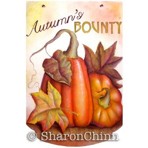 Autumns Bounty Grisaille Download - Sharon Chinn
