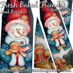 Fresh Baked Friends Pelt or Mink Board BY MAIL - Sharon Chinn