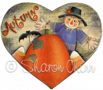 Scarecrow Heart ePattern by Sharon Chinn