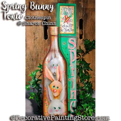 Spring Bunny Tonic by Sharon Chinn