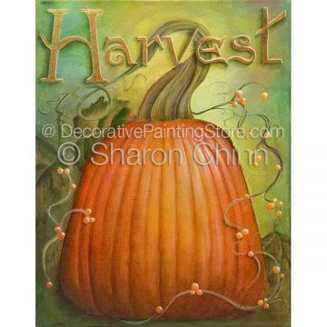 Harvest Pumpkin ePattern by Sharon Chinn