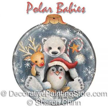 Polar Babies ePattern by Sharon Chinn