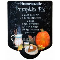 Homemade Pumpkin Pie Sign ePattern by Sharon Chinn