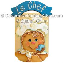 Le Gingerbread Chef ePattern by Sharon Chinn